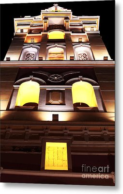 Cartagena Cathedral Metal Print by John Rizzuto