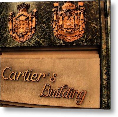 Cartier Jewellery Metal Print by Dan Sproul