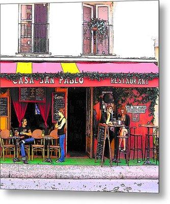 Casa San Pablo Restaurant Metal Print by Jan Matson