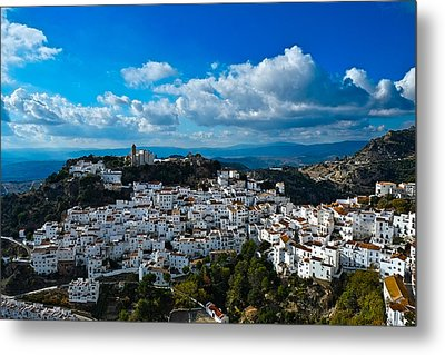 Casares In December Metal Print