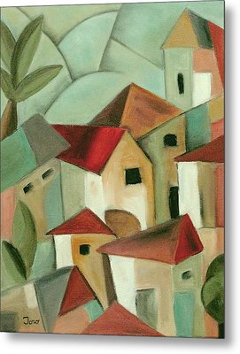Casas I Metal Print by Trish Toro