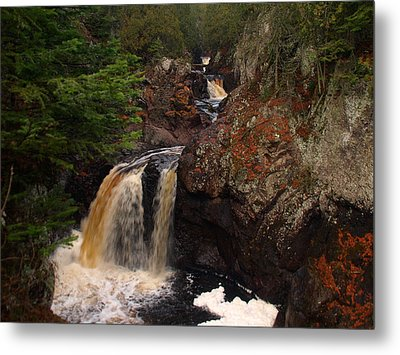 Cascade River Metal Print by James Peterson