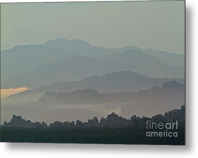 Metal Print featuring the photograph Cascading Hills  by Gary Bridger