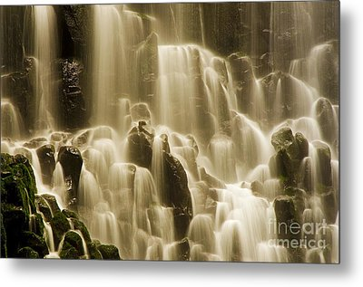 Metal Print featuring the photograph Cascading by Nick  Boren