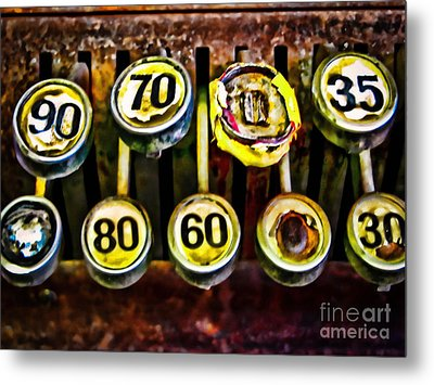 Cash Out Metal Print by Colleen Kammerer