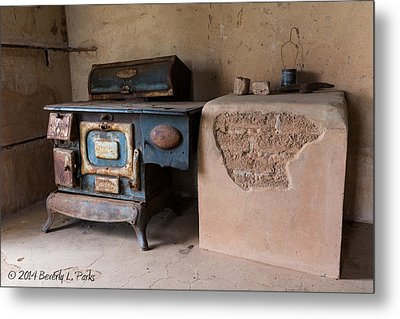 Cast Iron Metal Print