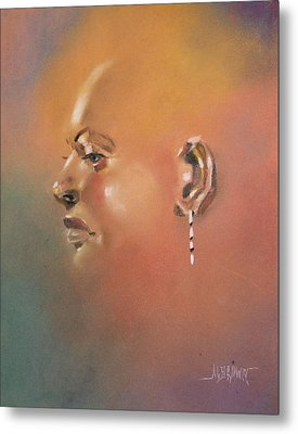 Metal Print featuring the painting Cast Reflectionn 1 by Al Brown