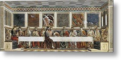 Castagno, Andrea Del 1423-1457. Last Metal Print by Everett