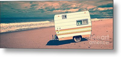 Castaway Metal Print by Edward Fielding