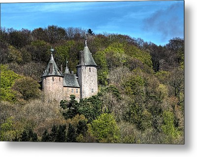 Castell Coch Cardiff Metal Print by Steve Purnell