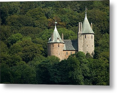 Metal Print featuring the photograph Castell Coch by Jeremy Voisey