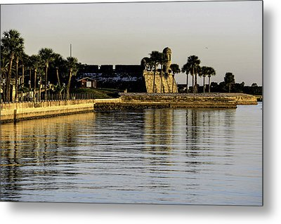 Castillo De San Marcos Metal Print by Anthony Baatz