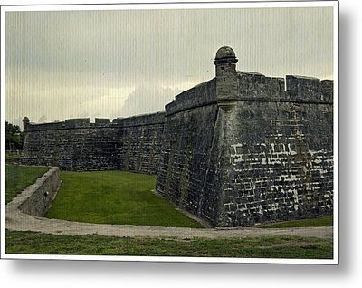 Castillo San Marcos 5 Metal Print by Laurie Perry