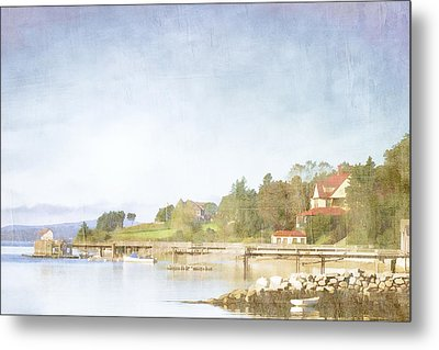 Castine Harbor Maine Metal Print by Carol Leigh