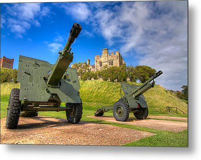 Castle Cannons Metal Print by Tim Stanley