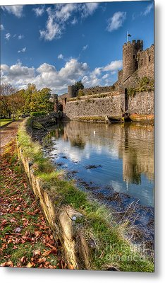 Castle Conwy Metal Print by Adrian Evans