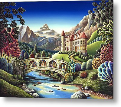 Castle Creek Metal Print by Andy Russell