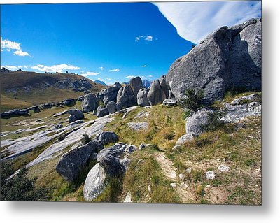 Metal Print featuring the photograph Castle Hill #4 by Stuart Litoff