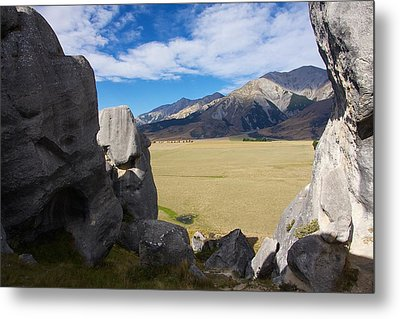 Castle Hill #5 Metal Print by Stuart Litoff