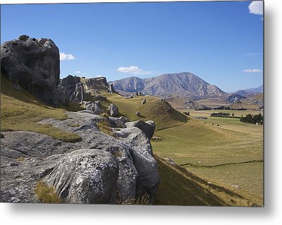 Castle Hill #6 Metal Print by Stuart Litoff
