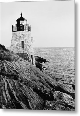 Castle Hill Bw 1 Metal Print by Marianne Campolongo