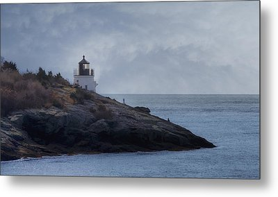 Castle Hill Dream Metal Print by Joan Carroll