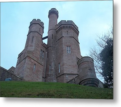 Castle In Inverness I Metal Print