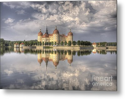 Castle In The Air Metal Print by Heiko Koehrer-Wagner
