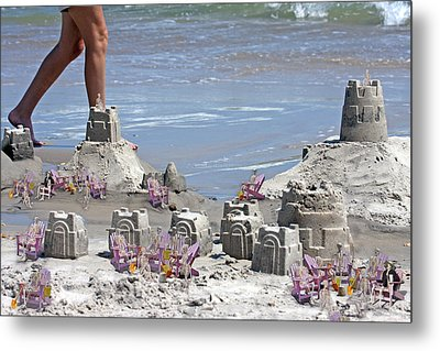 Castle Kingdom  Metal Print by Betsy Knapp