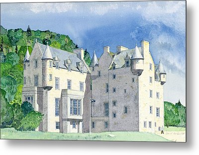 Castle Menzies Metal Print by David Herbert
