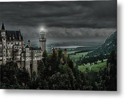 Castle Neuschwanstein II Metal Print