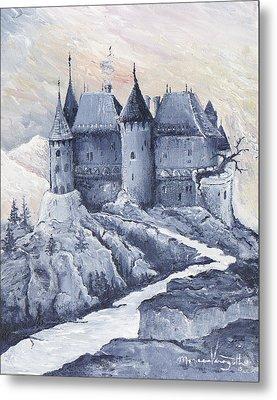 Castle Of The Carpathians Metal Print