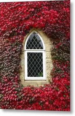 Castle Window Metal Print