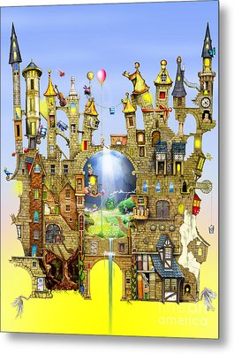 Castles In The Air  Metal Print