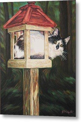 Cat House Metal Print