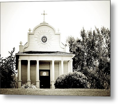 Cataldo Mission Metal Print by Terry Eve Tanner