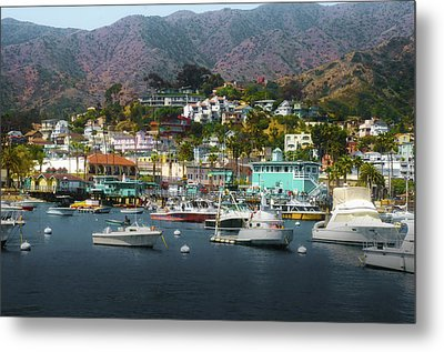 Catalina Express  View Metal Print by Joseph Hollingsworth