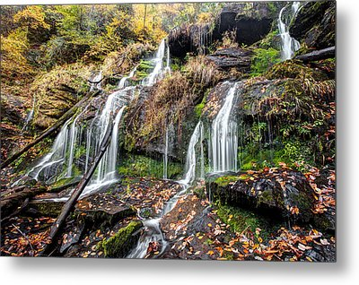 Catawba Falls Metal Print by Scott Moore