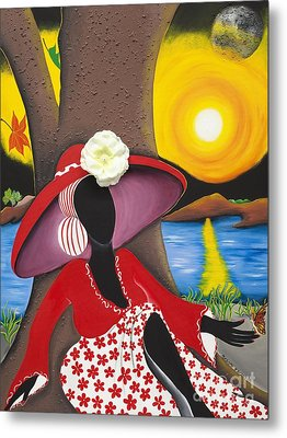 Catch Me In The Morning II Metal Print by Patricia Sabree