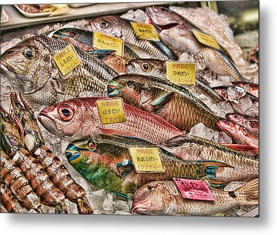 Catch Of The Day Metal Print by Karen Walzer