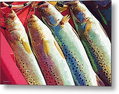 Catch Of The Day Metal Print by Margie Middleton
