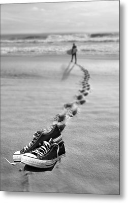 Catch Some Waves Metal Print