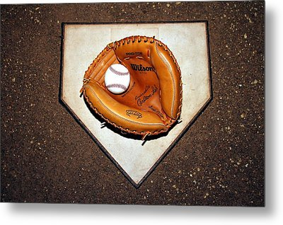 Catcher In The Corn Metal Print by Christopher Miles Carter