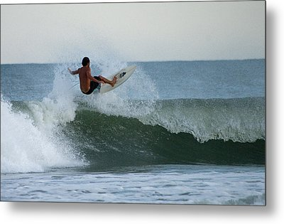 Metal Print featuring the photograph Catching Air by Greg Graham