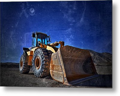 caterpillar 970F Metal Print by Mark Ross
