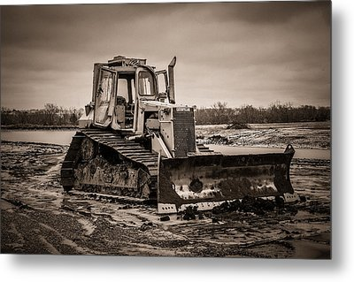 Caterpillar Metal Print