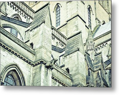 Cathedral Architecture Metal Print by Tom Gowanlock