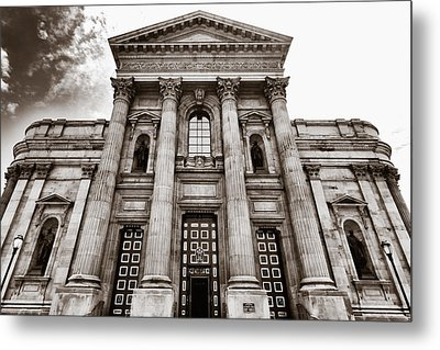 Metal Print featuring the photograph Cathedral Basilica Of Saints Peter And Paul - Philadelphia by Photography  By Sai