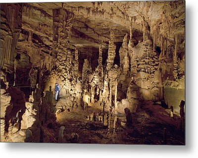 Cathedral Caverns In Woodville Metal Print