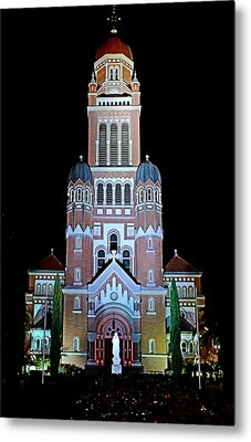 Metal Print featuring the photograph Cathedral by Cecil Fuselier